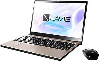 NEC 15.6型 ノートパソコン LAVIE Note NEXT NX750/LAシリーズ クレストゴールドLAVIE 2018年 秋冬モデル[Core i7/メモリ 8GB/HDD 1TB/Office H&B 2016] PC-NX750LAG
