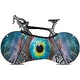 LisaArticles Bike Cover,All See Eyes Starry Sky Dreamcatcher Fundas De Bicicleta Cómodas para Mountain Road Bicicleta Eléctrica
