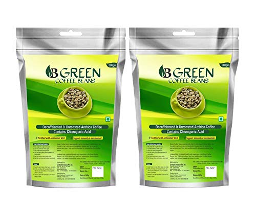 Livebasil Green Coffee Beans – Natural Coffee Beans For Weight Loss – Coffee Beans For Weight Reduce (Special Discount Only For 2 Days)