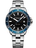 Reloj de Cuarzo Raymond Weil Tango 300, Azul/Negro, 42mm, Día, 8260-ST3-20001