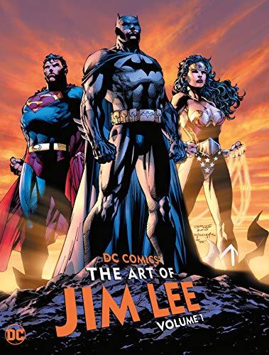 DC COMICS THE ART OF JIM LEE HC 01