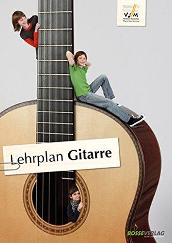 Lehrplan Gitarre: der offizielle Lehrplan des VdM; zuverlässige Orientierung im Instrumentalunterricht; erweiterte pädagogische Grundlagen und ... ... des Verbandes deutscher Musikschulen e.V.)