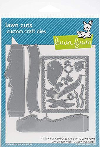 Lawn Fawn Dies - Shadow Box Card Ocean Add-On (LF1705)
