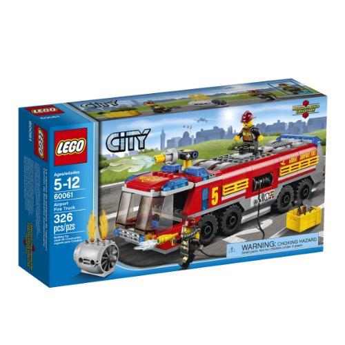 LEGO City Feuerwehrfahrzeug Flughafenfahrzeug - Bausatz bunt - 5 Jahre - 326 Stück(e), 12 Jahre (S)