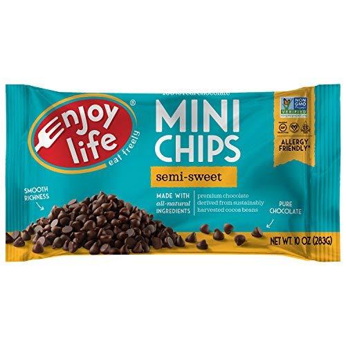 Enjoy Life Semi Sweet Chocolate Mini Chips, 10 oz-SET OF 3