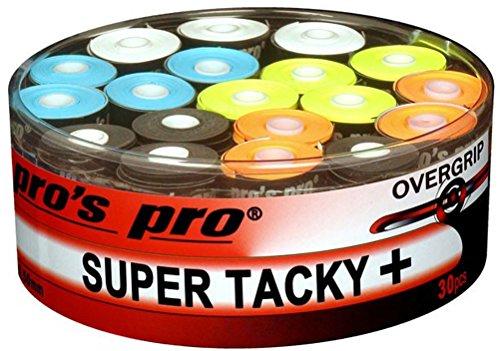 30 Overgrip Super Tacky Tape Tennis Griffbänder bunt