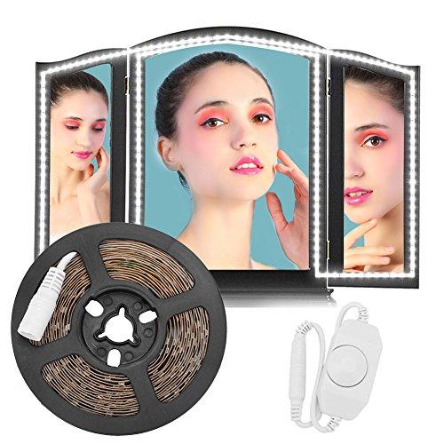 Filfeel Led-lichtstrip, 13ft SMD 240 LED Strip bar make-up spiegel make-up lamp flexibele lichtbalk kit DIY - hoofdeinde kast make-up teller spiegel