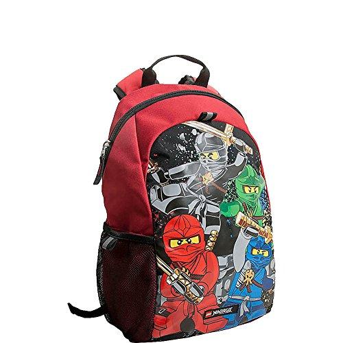 LEGO Mochila básica para niños Ninjago Team Heritage, Red (Rojo) - DP0961-TRU
