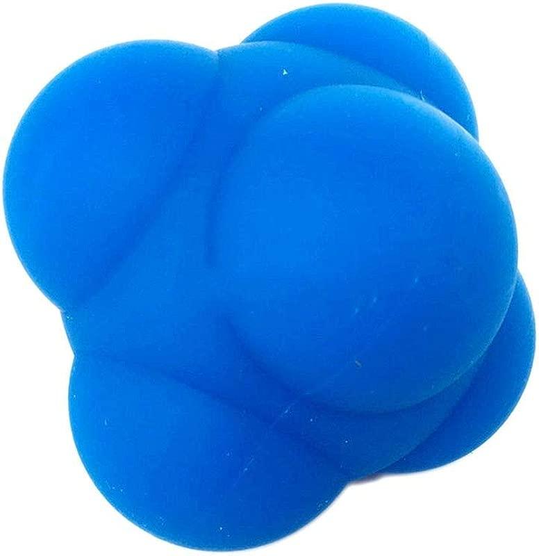 Zerama 6 Bulges Eye Hand Coordination Ability Training Ball Silicone Rebound Reaction Practice Tool