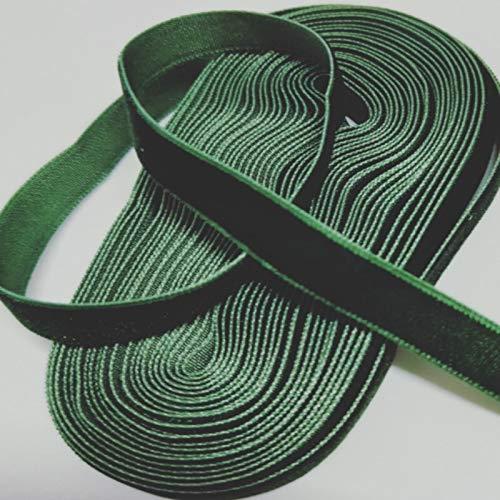 Lifuqiangme haarband, 3/8 inch, 10 mm, breed, velours, verschillende kleuren, meerkleurig, velours, haaraccessoires, haarband, stof, wit Ink Green