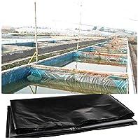 プールライナー 人工池用防水 1.5m / 2m / 3m / 4m / 5m / 6m / 7m / 8m / 9m / 10m / 11m / 12mのHDPE池ライナー、頑丈な魚の池予備成形ライナーガーデンプール膜強化造園、大きな魚の池ライナー、0.2mm / 0.4mm 、複数のサイズが利用可能 (Color : 40S, Size : 2x8M(6.6x26.2ft))