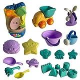 Kinder Sandspielzeug, 20 Teile, Strandspielzeug...