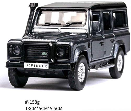 Model auto's 1:36 Diecast Car Model Rover Range Rover Metal Car Wheels Simulation Pull Back Car Collection Kinder Gift dljyy ( Color : Guard gray )