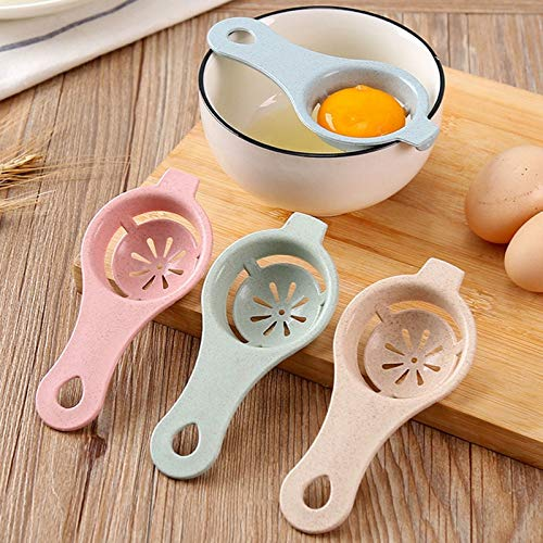 4PC Plastic Egg Separator White Yolk Sifting Home Kitchen Chef Dining Cooking Gadget New Download all