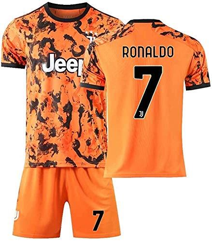 PATA Ronaldo 7# - Conjunto de camiseta de fútbol para niño (temporada 2021)