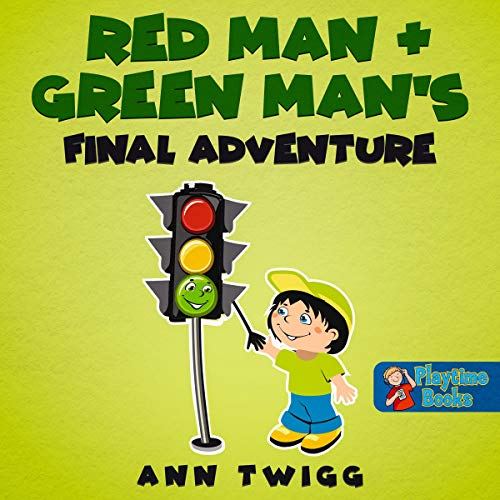 Red Man and Green Man's Final Adventure audiobook cover art
