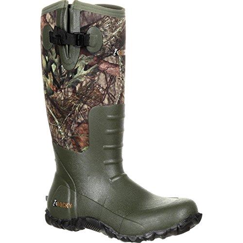 Rocky Men's Waterproof Outdoor Core Rubber Boot 5mm, Mossy Oak Break-up Country, 11 M US