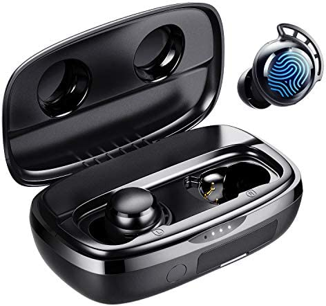 Wireless Earbuds Tribit 100H Playtime Bluetooth 5 0 IPX8 Waterproof Touch Control Ture Wireless product image