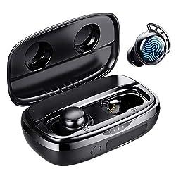 Écouteurs Immersive Sound avec Microphone - Flybuds 3 véritables écouteurs sans fil avec un son stéréo Hi-Fi idéal pour les appels, la musique et la vidéo. Vous pouvez profiter de votre appel téléphonique très clair avec votre bien-aimé quel que soit...