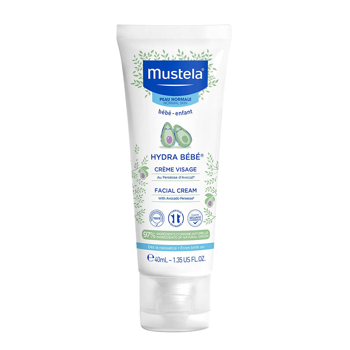 Mustela Hydra Manufacturer direct delivery Bebe Face Cream Daily Baby cheap with – Moisturizer