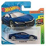 Mattel Cars Hot Wheels '17 Acura NSX HW Exotics 199/250 2019 Short Card