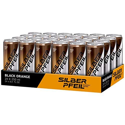 Silberpfeil Black Orange, 24er Pack (24 x 0.25 l) EINWEG