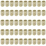 Apofly 50PCS / Set Rockwool Cubo de propagación hidropónica Hortalizas Bloque cilíndrico de semillero invernaderos Cultivo Sistema Accesorios Jardinería