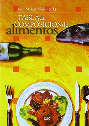 Tabla de composición de alimentos. Quinta Edición (Monográfica / Biblioteca de Ciencias de la Salud)