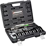 Hilmor Compact Bender Kit with Reverse Bending Attachment for 1/4' - 7/8' Tube and Pipe Bending, Black, CBKRB 1926598