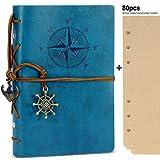 Rymall Kunstleder-Tagebuch+A6 Refill Papier