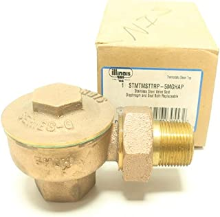 WATTS Illinois STMTMSTTRP-5MGHAP Brass Thermostatic STEAM Trap 1IN NPT R668951