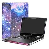 Alapmk Protective Case Cover for 15.6' HP Envy x360 15 15-bpXXX 15m-bpXXX (Such as 15M-BP012DX)/15m-bqXXX 15-bqXXX (Such as 15m-bq021DX) Laptop[Not fit 15-cnXXX/15-wXXX/15-aqXXX Series],Galaxy