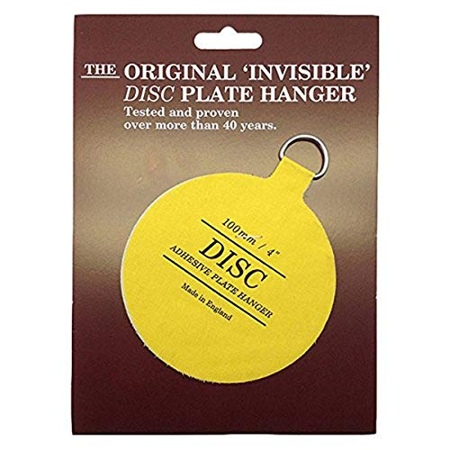 4' Disc Adhesive Plate Hanger