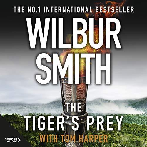 The Tiger's Prey audiobook cover art