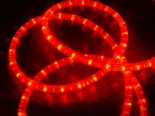Guirnalda de luces LED con función intermitente (50 m, 50 m, cable...