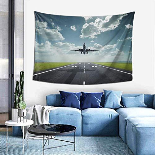 N\A Tapiz para Colgar en la Pared, tapices de Aviones de Cielo Azul para Dormitorio, Sala de Estar, Dormitorio, Manta de Pared, Toallas de Playa, decoración del hogar