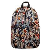DC Comics Wonder Woman All Over Print Backpack