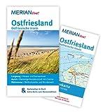 Image of MERIAN live! Reiseführer Ostfriesland  Ostfriesische Inseln: MERIAN live! – Mit Kartenatlas im Buch und Extra-Karte zum Herausnehmen