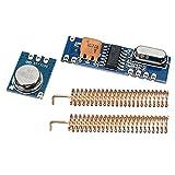 ILS - Kit de Control Módulo de transceptor Remoto 3sets 433MHz 100M inalámbrica 3 Piezas Ask...