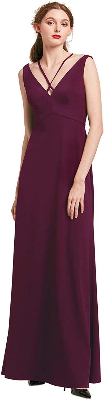 Alicepub Women Evening Gowns Elegant Formal Dresses Long Prom Dress Sleeveless