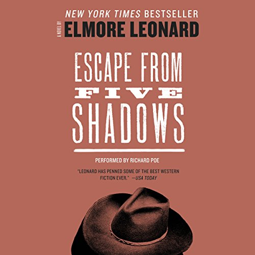 Escape from Five Shadows audiobook cover art