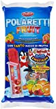 Polaretti Fruit Ice Ice Ice Cream Lollies con zumo de fruta para congelar, 10 x 40 ml