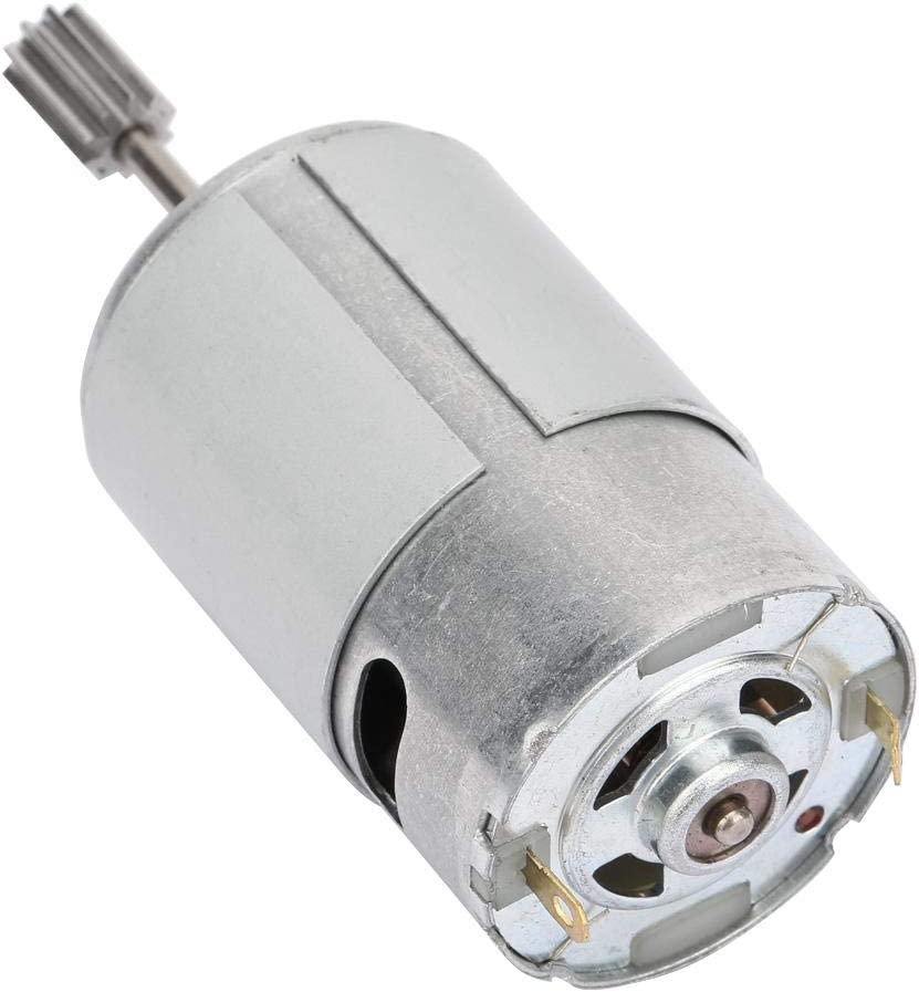 RS550 Motor High Speed Motor Strong Structure Durable for Electric 6V550-20000 turn RS550 Engine Motor