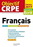 Objectif CRPE Français - 2017