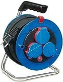 Brennenstuhl 15m H05RR-F 3G1,5 3AC outlet(s) 15m Negro, Azul, Rojo base múltiple - Bases múltiples (15 m, 3 salidas AC, IP44, Negro, Azul, Rojo, Negro, 1 pieza(s))