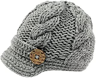 OVOY Boys Tweed Cap Scally-Boy-Newsboy Baby Kids Driver Cap Cotton Christening Hat