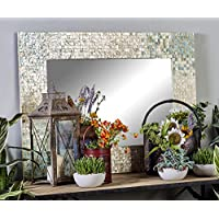 Monroe Lane Coastal Shell Wall Mirror