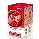 Sino-Sci Vessel Clean - Blood Pressure Support, Hypertension Supplement, Cardiovascular Health, 72 Counts