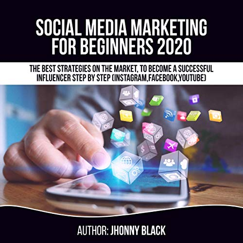 Social Media Marketing for Beginners 2020 audiobook cover art