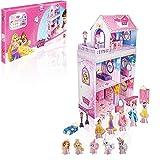 Disney Princesas Mansión Palace Pets, maqueta de cartón con Accesorios (STOR 08120)...
